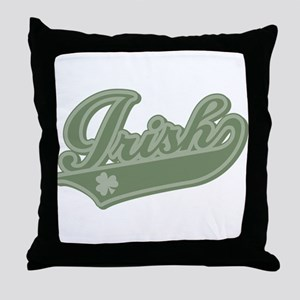 Irish [Baseball Style] Throw Pillow